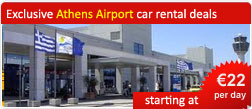Exclusive Athens Airport car rental deals