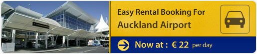Easy rental booking for Auckland Airport