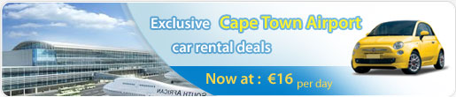 Exclusive Cape Town Airport car rental deals