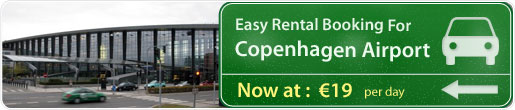 Easy rental booking for Copenhagen Airport