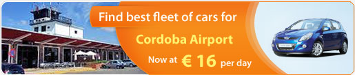 Find Best Fleet of cars for Cordoba Airport