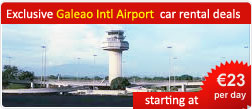 Exclusive Galeao Intl Airport car rental deals