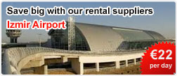 Save big with our car rental suppliers at Izmir Airport