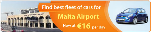 Find Best Fleet of cars for Malta Airport