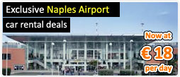 Exclusive Naples Airport car rental deals