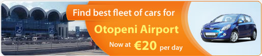 Find Best Fleet of cars for Otopeni Airport