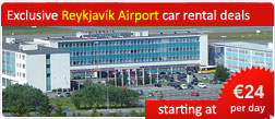 Exclusive Reykjavik Airport car rental deals