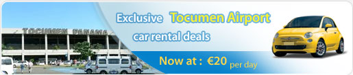 Exclusive Tocumen Airport car rental deals