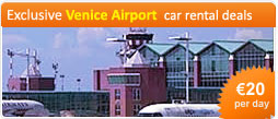 Exclusive Venice Airport car rental deals