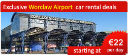 Exclusive Worclaw Airport car rental deals