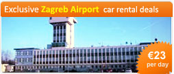 Exclusive Zagreb Airport car rental deals